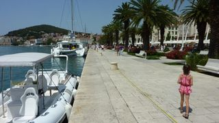 Split apartment photo - Main promenade-riva