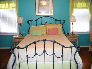2nd floor master bedroom - Isle of Palms house vacation rental photo