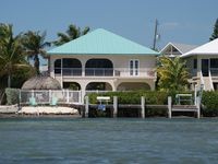 Oceanfront Rental With Heated Pool, Dock & Tiki Hut