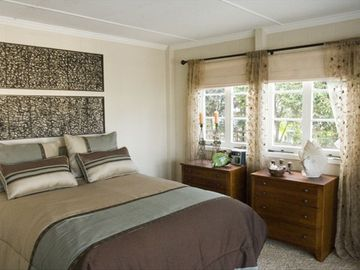 Ocean View Bedroom with French Doors to Front Deck