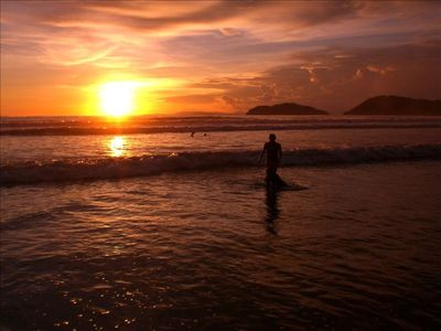 24. Watch a beautiful Costa Rican sunset from the beach