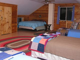 Newfound Lake house photo - Another view of the sleeping loft