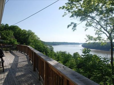 Awesome 3 Mile Vista View From The Back Deck. Great For BBQ's and Family/Friends