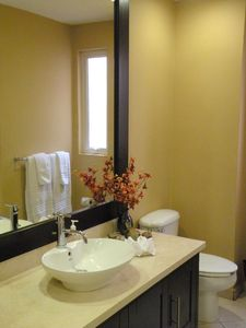 Puerto Vallarta condo rental - Master bath with lots of counter top