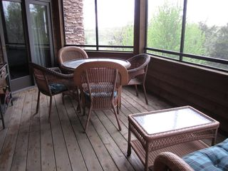 Galena house photo - Each Bedroom suite has a screened in Porch