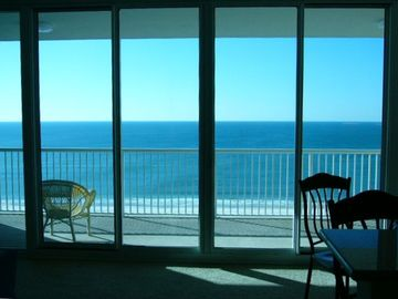 Gulf Shores condo rental - First Impressions are the Most Important-View as you Enter Unit & 30ft of Glass!