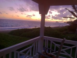 Kailua house photo - Sunrise