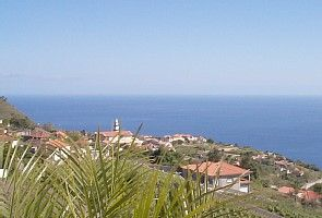 Calheta villa rental - View from the balcony over Arco da Calheta