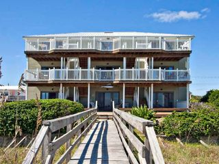 Fernandina Beach condo photo - Beachside of condo