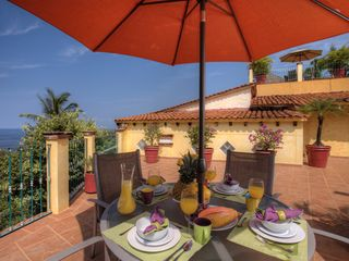 Middle Terrace - Morning Breakfast - Puerto Vallarta villa vacation rental photo