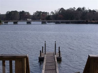 Chapin house rental - Large floating dock