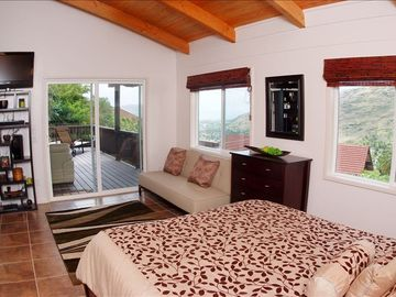Ocean views from the bed every morning when you wake up! Open floor plan