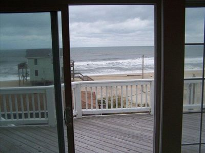 Oceanview from Living Room. Please note, house in front has been removed!