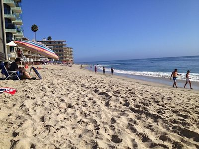 Legion Street Beach, just steps away from Laguna Main Beach...view looking South
