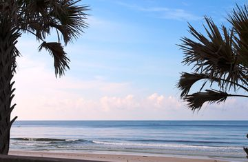 Beachside Townhomes townhome rental - Beachside Bliss! A perfect view from the deck!