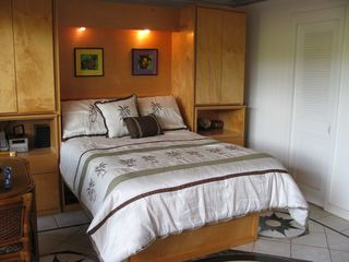 Poipu studio photo - Murphy Bed Down, Plenty of room in the condo with bed down.
