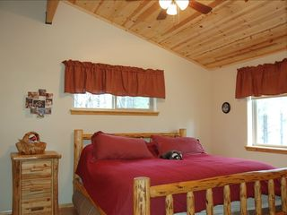 Williams cabin photo - Upstairs Bedroom, another heavenly bed