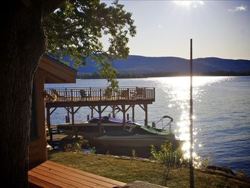 Dock with Lake View / Boathouse / Beach