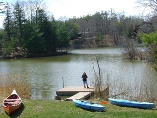 Athens - Sleepy Hollow Lake cabin photo - Private Dock -
