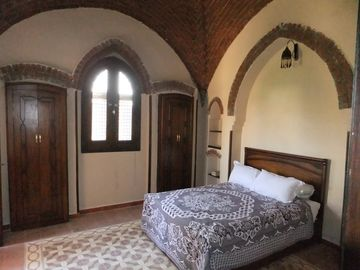 One of the first floor bedrooms
