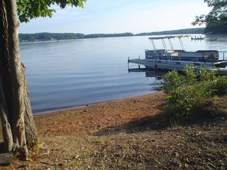Lake Winnisquam cottage photo - Loon Beach and our deep water dock