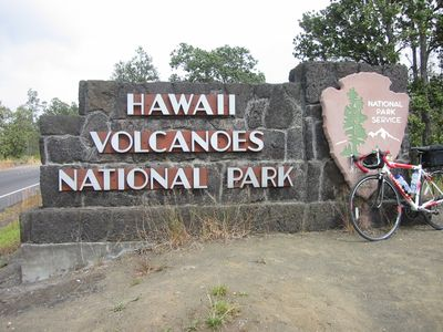 A short drive to Volcanoes National Park...