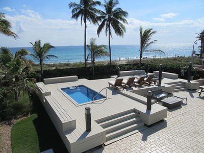 Cross this one off your bucket list!  Stay at our 4/4 Oceanfront Gem...