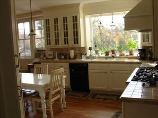Annapolis villa photo - commercial kitchen overlooking the river