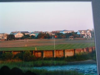 Pawleys Island condo photo - Pawleys Plantation's 13th hole surrounded by water on three sides.