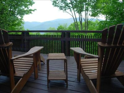 Picture you and your honey enjoying drinks on the deck.