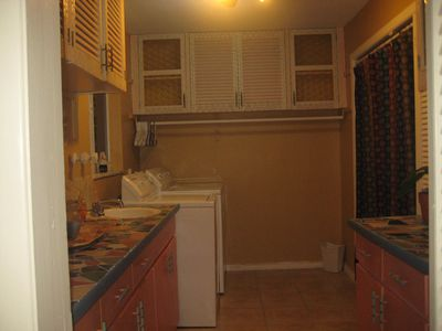 Big size laundry room