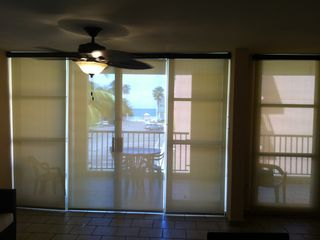 Loiza apartment photo - You can see the beautiful view thru the curtains. Blackout Curtains in each room