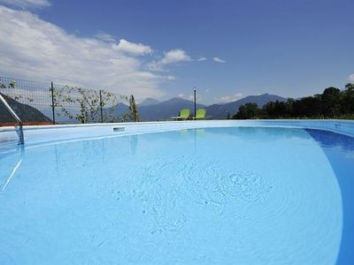 Menaggio apartment rental - The fabulous residence pool at Menaggio Oleandro