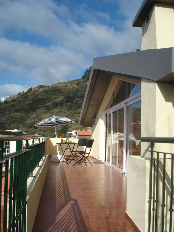 Large 20m² balcony