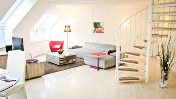 Innere stadt apartment rental spacious and modern furnished duplex