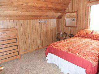 Claybank Township cottage photo - First bedroom with queen bed