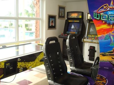 Game Room at the Blue Heron Beach Resort