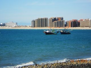 Puerto Penasco condo photo - View of Las Palomas Resort from Old Town.