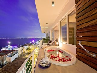 Puerto Vallarta condo photo - Pamper yourself in jacuzzi in terrace & enjoy the ultimate romantic paradise