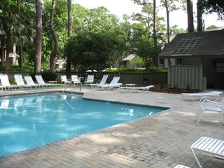 Sea Pines townhome photo - Pool