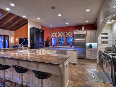 Gourmet Kitchen with professional appliances and granite counter tops