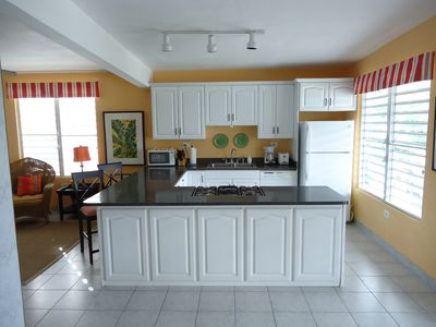 Upstairs Fully-Equipped Kitchen