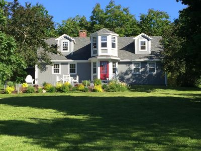 Executive Ocean Front Estate with 2 Acres Overlooking Waters of Mahone Bay