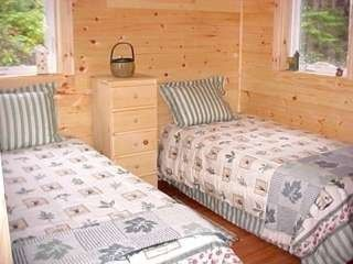 Seal Cove house photo - 1st floor bedroom, 2 twins