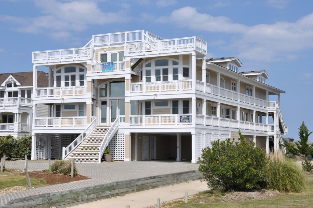 Nags Head Vacation Rental Vrbo 675098 16 Br Northern Coast Outer Banks House In Nc 16