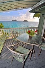 Lanikai house photo - Large patio has gas BBQ and sun shade