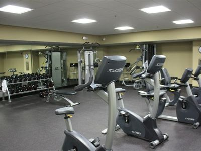 Emerald Beach Resort condo rental - Huge Exercise Area And It's FREE !