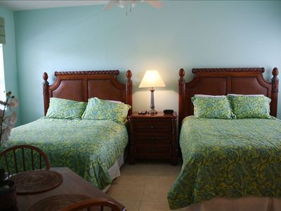 Port St. Lucie condo rental - 2nd Bedroom with 2 queen beds
