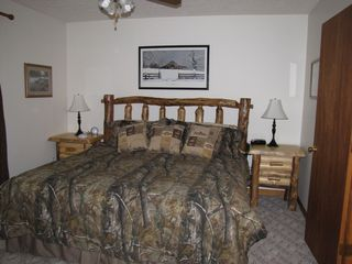 Dillsboro cabin photo - New Furnished Master Bedroom King Bed