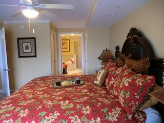 Bel Mare Ocean City condo photo - get away from it all in the master bedroom and bathroom